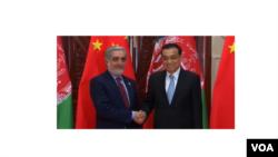 د افغانستان څخه د هیات مشري اجراییه رئیس عبدالله عبدالله په غاړه درلوده