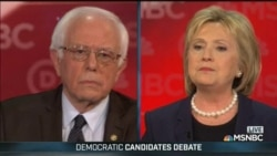 Sanders, Clinton Face Off in Feisty Debate