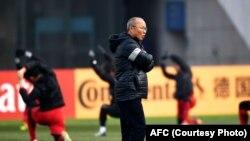 Huấn Luyện viên U23 Park HangSeo.