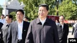 9月15日习近平在北京的中国农业大学参加科普日活动