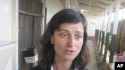 Maria Nedelcheva, chef de la mission d'observation l'UE en RDC