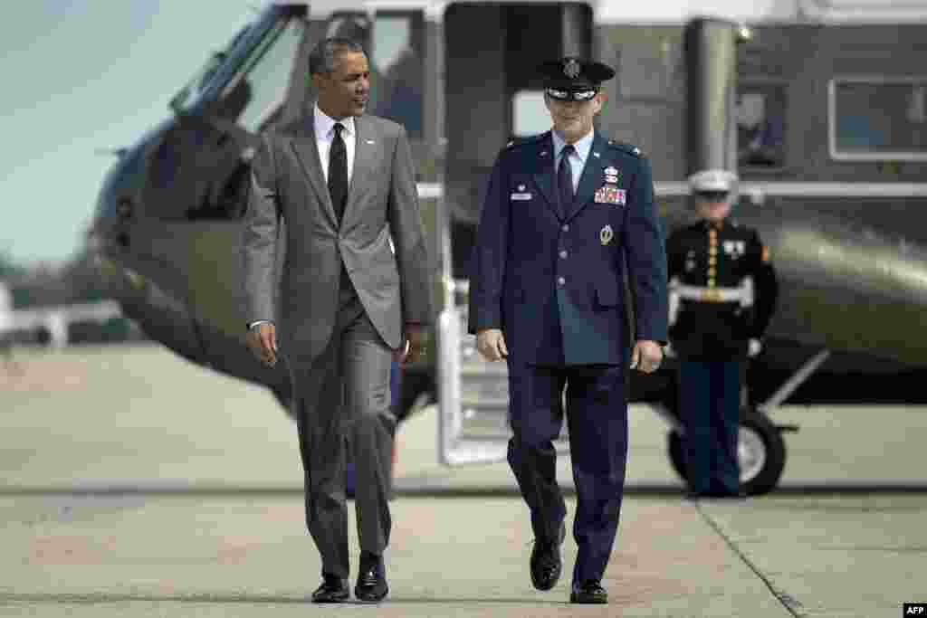 صدر اوباما دس سال قبل آنے والے ہریکین قطرینہ طوفان سے متاثرہ شہر نیو اورلینز کی تعمیر نو کا جائزہ لینے کے لیے جا رہے ہیں۔