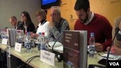 Centar za ljudska prava predstavlja godišnji izveštaj o stanju ljudskih prava u Srbiji u 2015, Beograd, 21. marta 2016.