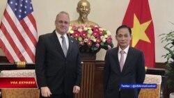 Đặc phái viên Tổng thống Mỹ về kiểm soát vũ khí thăm Việt Nam