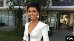 H'Hen Niê sau cuộc thi Miss Universe 2018. (Hình: Ben Ngô/BBC)