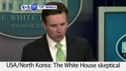 VOA60 World PM - The White House skeptical of North Korea's claim to have successfully tested a hydrogen bomb