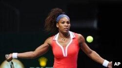 Serena Williams, peringkat ketiga dunia, merupakan Petenis Putri Terbaik 2012 (foto: Dok).
