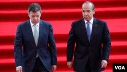 Santos y Calderón aseguraron que los nuevos convenios contra la delincuencia también beneficiarán a Centroamérica y El Caribe.