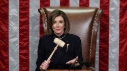 VOA: EE.UU. Pelosi a la espera Senado Juicio Político