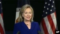 克林顿国务卿2月15日在华盛顿就互联网自由发表演讲