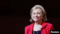 Mantan Menlu AS Hillary Clinton (Foto: dok).