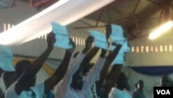 Amalunga eMthwakazi Republic Party e ZITF ko Bulawayo.