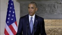Obama on Discussions with Greek Leaders, NATO