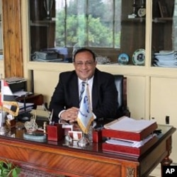Maged Negm, Dean of Helwan University's Faculty of Tourism and Hotel Management, Cairo, Egypt, December 14, 2011.