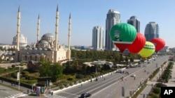 Город Грозный, Чеченская республика (архивное фото)