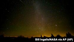 Meteorit (foto: ilustrasi).