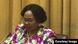 UNkosikazi Monica Mutsvangwa