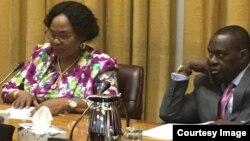 Information Minister Monica Mutsvangwa At Ministerial Briefing