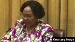 Gurukota rezvekuburitswa kwemashoko Amai Monica Mutsvangwa