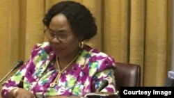 Information Minister Monica Mutsvangwa At Ministerial Briefing