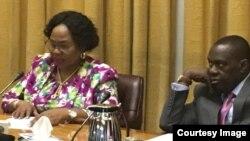 Amai Monica Mutsvangwa naVaSibusiso Moyo