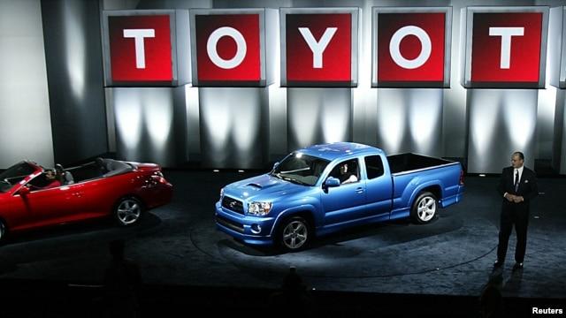 Beberapa jenis truk yang termasuk dari kendaraan-kendaraan produksi Toyota yang ditarik dari peredaran karena cacat. (Foto: Dok)