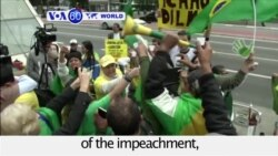 VOA60 World - Brazil: President Dilma Rousseff is to face trial