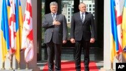 Петр Порошенко и Георгий Маргвелашвили
