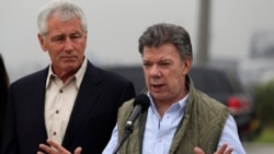 Hagel Visits Colombia