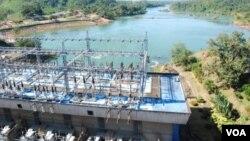 Photo d'archives - Centrale électrique du Laos.