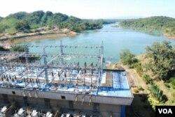Une station électrique à Laos, au Nigeria.