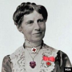 Clara Barton, pendiri Palang Merah Amerika.