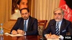 عبدالله عبدالله په تېرو ولسمشریزو ټاکنو کې د جمعیت ګوند کاندید و