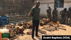 Garimpeiro detido em Manica, Moçambique