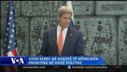 Kerry në Kosovë, terrorizmi temë e bisedimeve