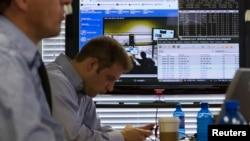 Ensayo de un ciber ataque en laboratorio del Departamento de Seguridad Interior de Estados Unidos en Idaho.