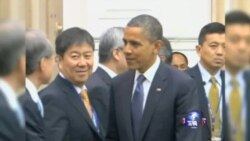奥巴马总统访亚洲四国 TPP谈判困难重重