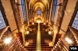 Chapel at the University of Chicago, by Justin Kern