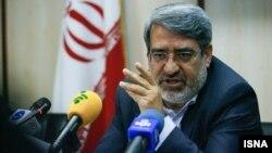 Rahmani Fazli, Iran's minister رحمانی فضلی وزیر کشور ایران