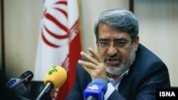 عبدالرضا رحمانی فضلی وزیر کشور ایران - آرشیو