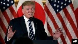 Президент США Дональд Трамп. Токио, Япония. 25 мая 2019 г.