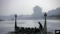 台北基隆河(资料照片)