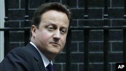 데이비드 카메론 영국 총리 (자료사진)