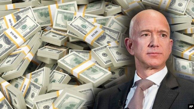 Jeff Bezos, người giàu nhất thế giới.