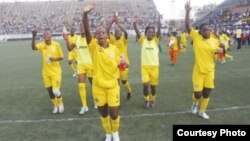 The Mighty Warriors beat Cameroon last Sunday to book a slot in the 2016 Olympic Games.