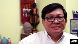Ông Son Chhay, nhà lập pháp thuộc đảng đối lập Sam Rainsy