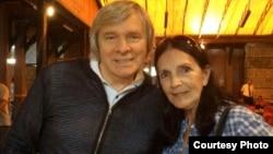 Олег Видов и Эслинда Нуньес. Courtesy photo