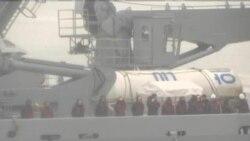 韓國海軍將研究撈起的朝鮮火箭殘骸