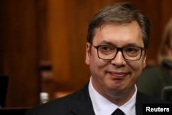 Arhia - Predsednik Srbije i Srpske napredne stranke Aleksandar Vučić