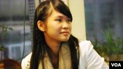 香港90後社運參與者黃莉莉